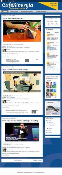 Cafesinergia.com #Websites #Idealistica #ebranding