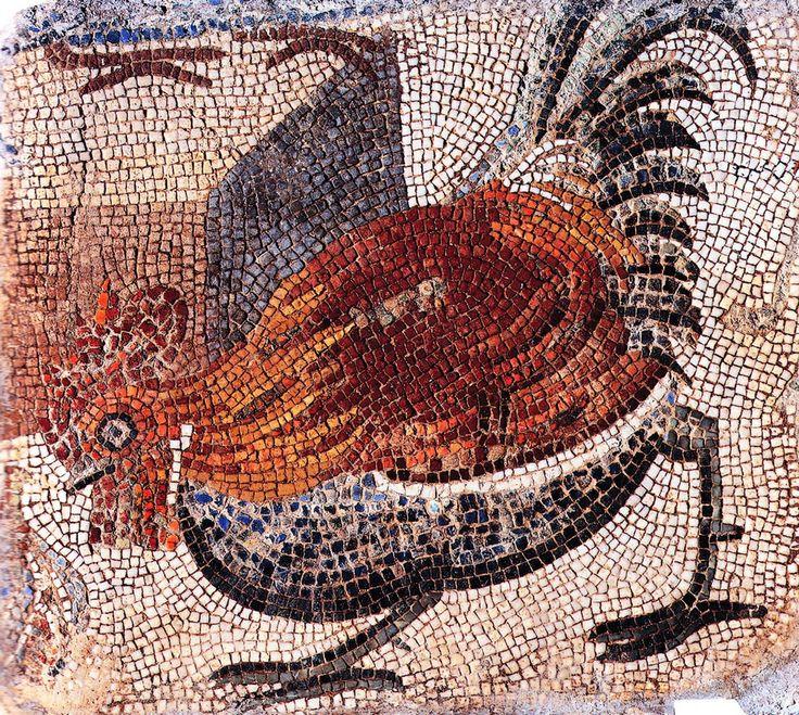 Gallina, III d.C. Musei Vaticani, Vaticano. Cultura romana