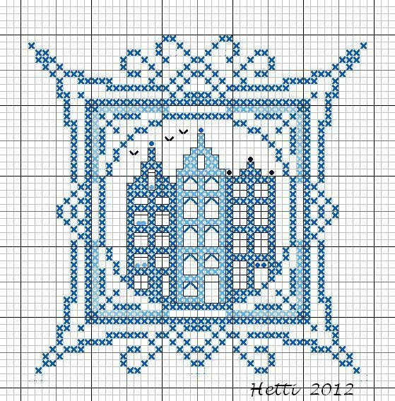 Creative Workshops from Hetti: # SAL Delft Blue Tiles 2012