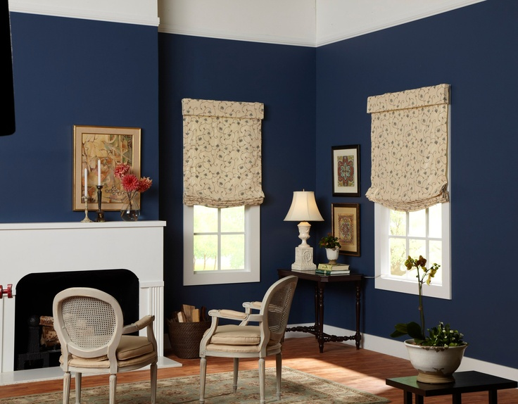 Lovely Relaxed Fabric Roman Shades