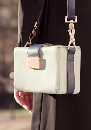 I'm obsessed with & other stories' bags like crazy. Here: mini (box-shaped) shoulder bag.