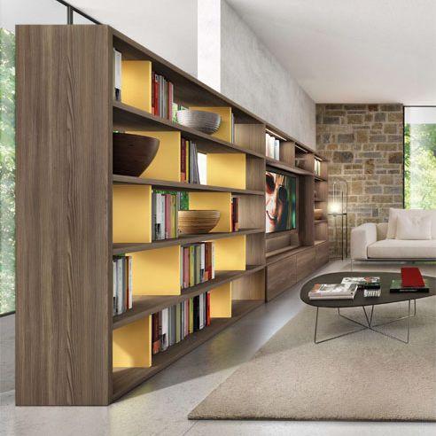 M s de 25 ideas fant sticas sobre biblioteca moderna en for Muebles bibliotecas para living
