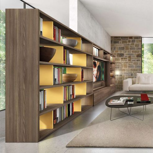 17 migliori idee su biblioteca moderna su pinterest for Bibliotecas muebles