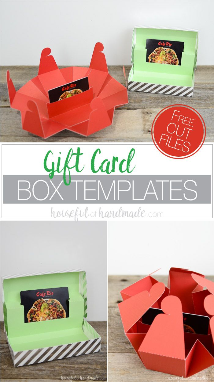 Gift Card Box Templates Gift Card Tree Gift Card Envelope Diy Unique Gift Card Holder