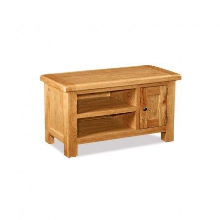 Salisbury Oak TV Unit - Ideal Furniture