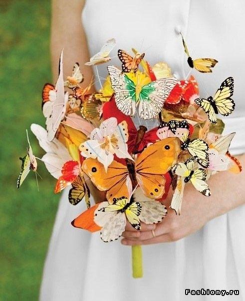 Необычные свадебные букеты для невесты