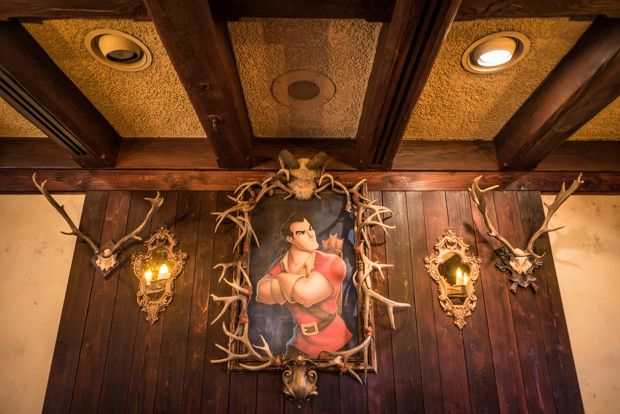 New Beauty and the Beast Restaurant at Disneyland!
