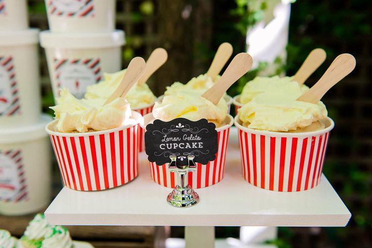 Gelato Cupcakes