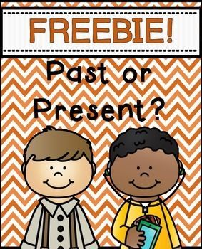 Past or Present FREEBIE ~ Social Studies Sort Enjoy this FREEBIE with your students. Sort the pictures from the past and present. An answer key is included. Also, please check out my Thanksgiving Math and Literacy Printables Thanksgiving Math and Literacy Printables