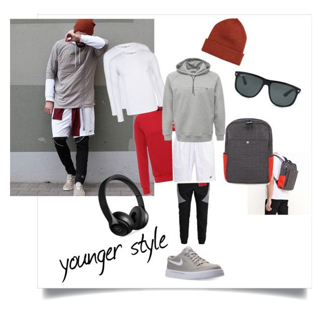 """""""Younger style"""" by poletaeva-anna on Polyvore featuring Beats by Dr. Dre, Norse Projects, Ray-Ban, NIKE, men's fashion и menswear"""