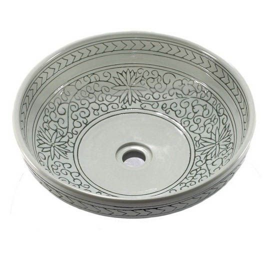 Photo Of Legion Furniture ZA Elegant Porcelain Sink Bowl