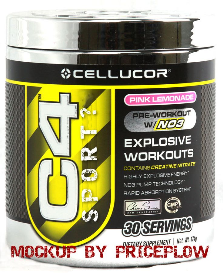 Cellucor C4 SPORT LowCost Pre Workout at Major Retailers