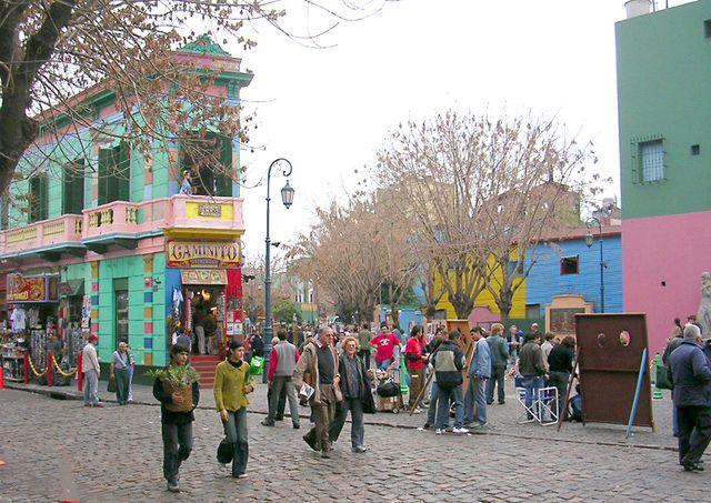 10 sitios para visitar en Buenos Aires: Caminito