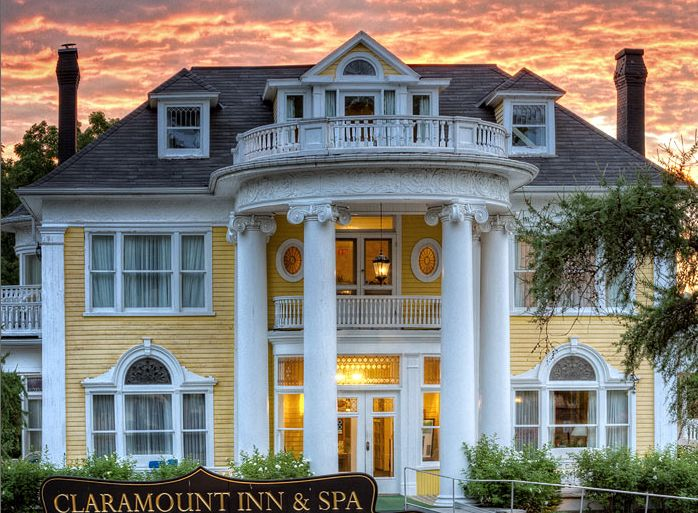 The simply stunning colonial revival mansion.