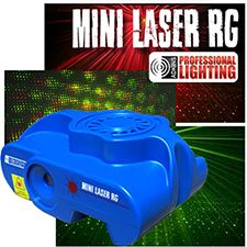 Mini Laser Light Show – Red and Green Lasers – Sound Active – Stage Light for DJ Party or Night Club Laser Light Show