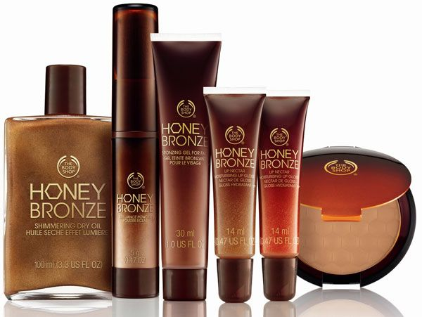 The Body Shop Honey Bronze Collection