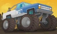 Camiones monstruo destructores - Juega a juegos en línea gratis en Juegos.com