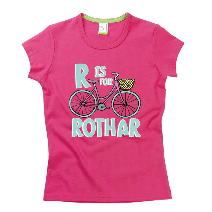 R is for Rothar Kids Alphabet T-Shirt by Hairy Baby