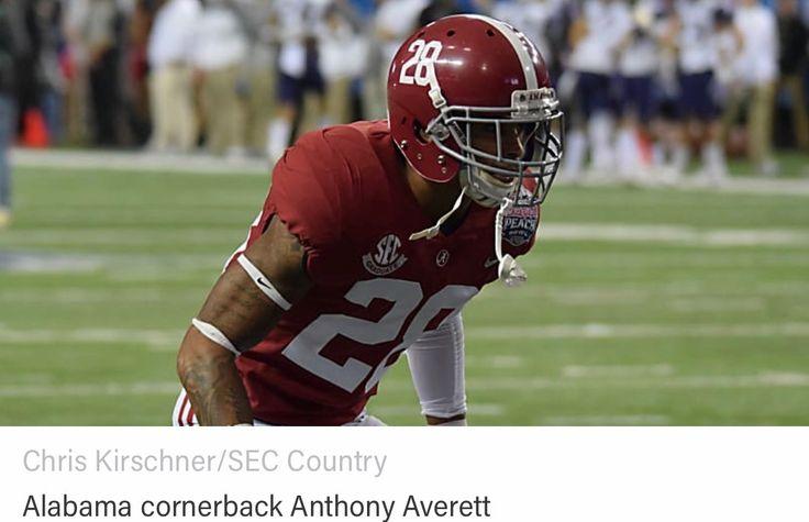 "Anthony Averett - ""Important Alabama Players for 2017"" #Alabama #RollTide #Bama #BuiltByBama #RTR #CrimsonTide #RammerJammer"