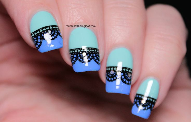 Mdollas nails: Kiko-Perfect gel duo-677 Milk mint