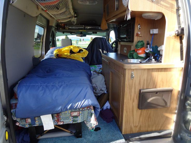 ford transit connect camper conversion alaskandave smugmug camping pinterest. Black Bedroom Furniture Sets. Home Design Ideas