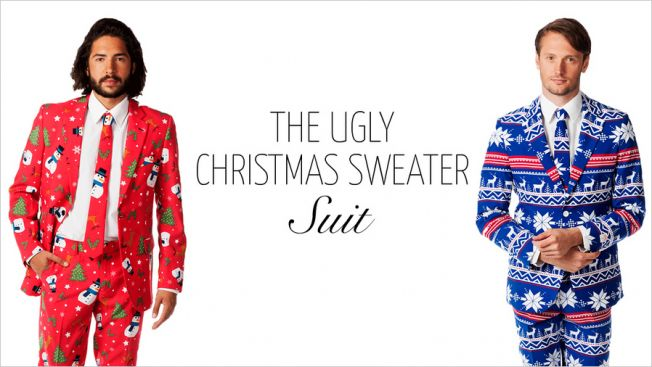 Stop Half-Assing Holiday Parties and Go Get Yourself an Ugly Sweater Suit | Adweek