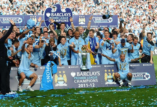 Manchester City Campeon de la premier league 2011-2012: Van Manchester, Cities, Belgische Voetbalgeschiedenis, Premier League, Manchester City