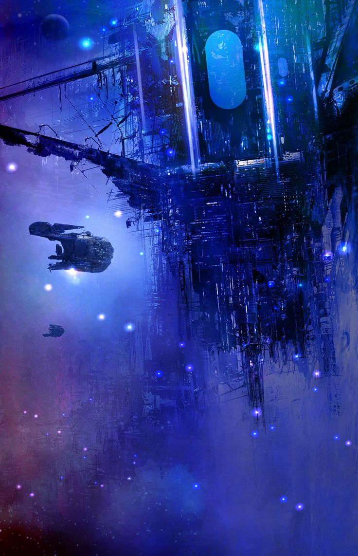 ArtStation - Track, Hugh Sicotte | Sci-Fi space station spaceships spacecraft futuristic technology