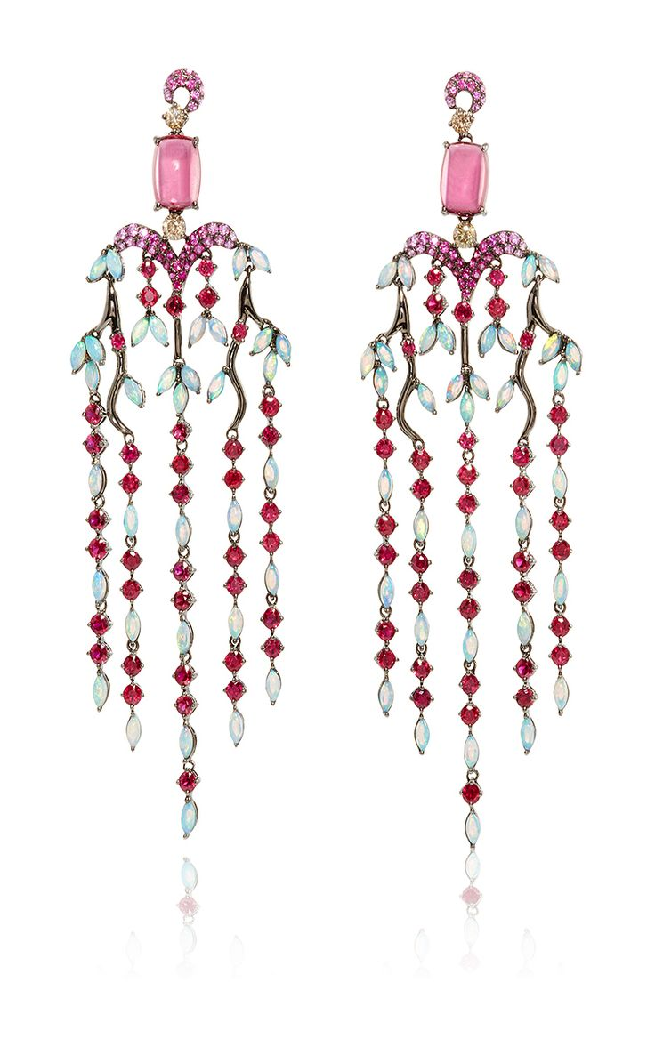 305 best crazy jewelry5 images on pinterest jewelery jewels and multicolor chandelier earrings by wendy yue now available on moda operandi arubaitofo Images