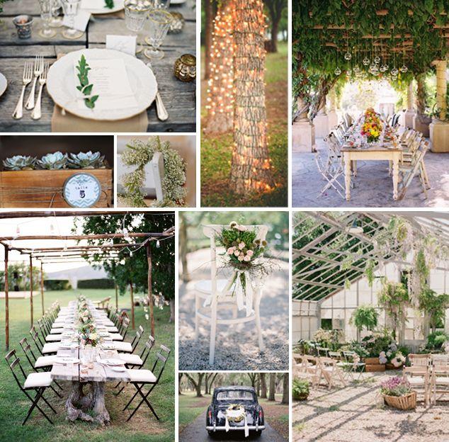 ideas de decoracin para una boda econmica y original vestidos tocados flores