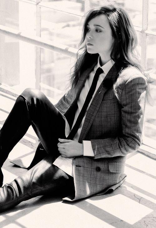 Ellen Page - Flare Magazine- June 2014