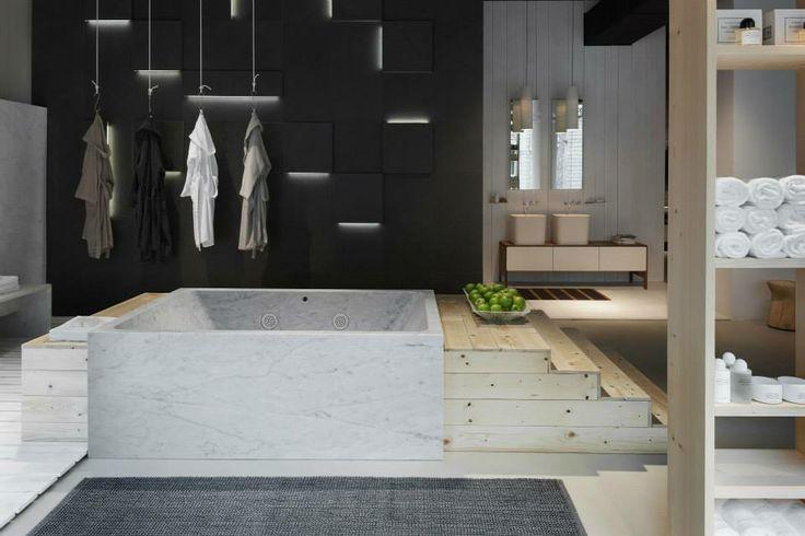 NEUTRA Flagship Store in milan - water_wellness_stone. #bathroom #spa #design #bathtube #hydrowell