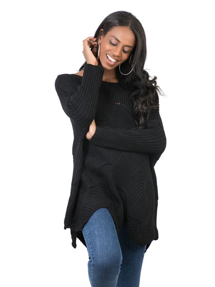 52465239e900 T18027 Μπλούζα πλεκτή - Decoro - Γυναικεία ρούχα