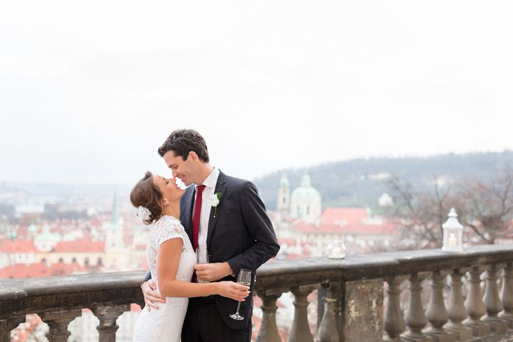 Festive Christmas Inspired Prague Wedding