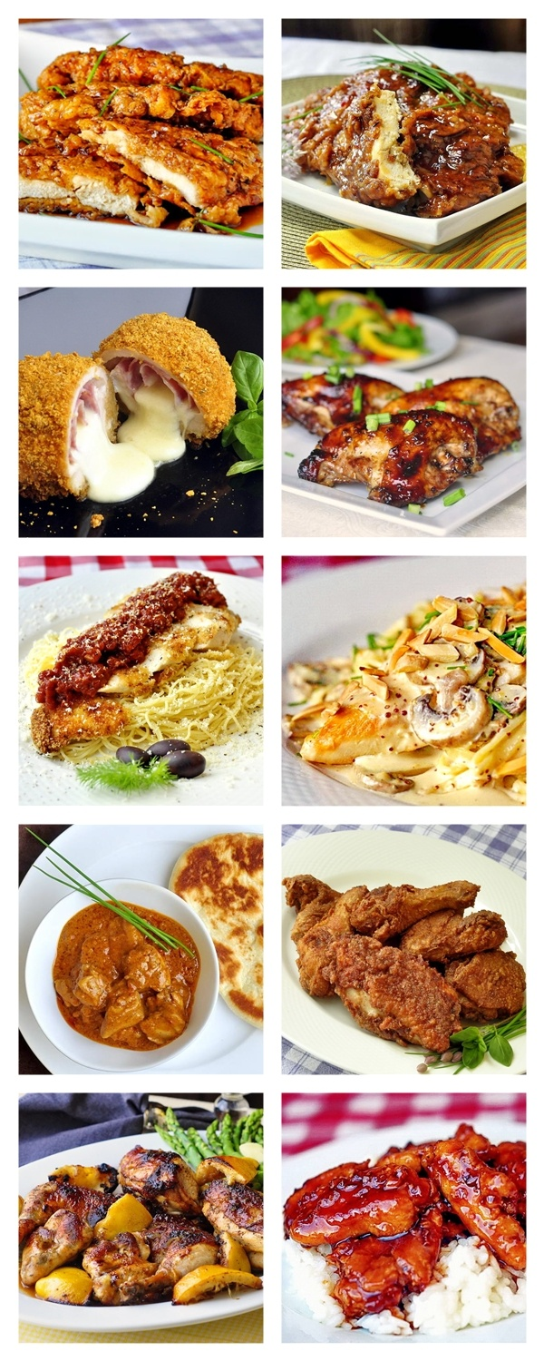 Our TOP TEN chicken recipes from over 5 years of blogging. You'll want to try each and every one of these 10 recipes which have been prepared and raved about by thousands of people since NLRockRecipes.com started over 5 years ago.
