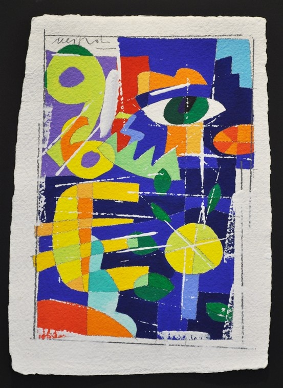MONEY TIME Size: 31x43 cm Technique: acrylic on paper