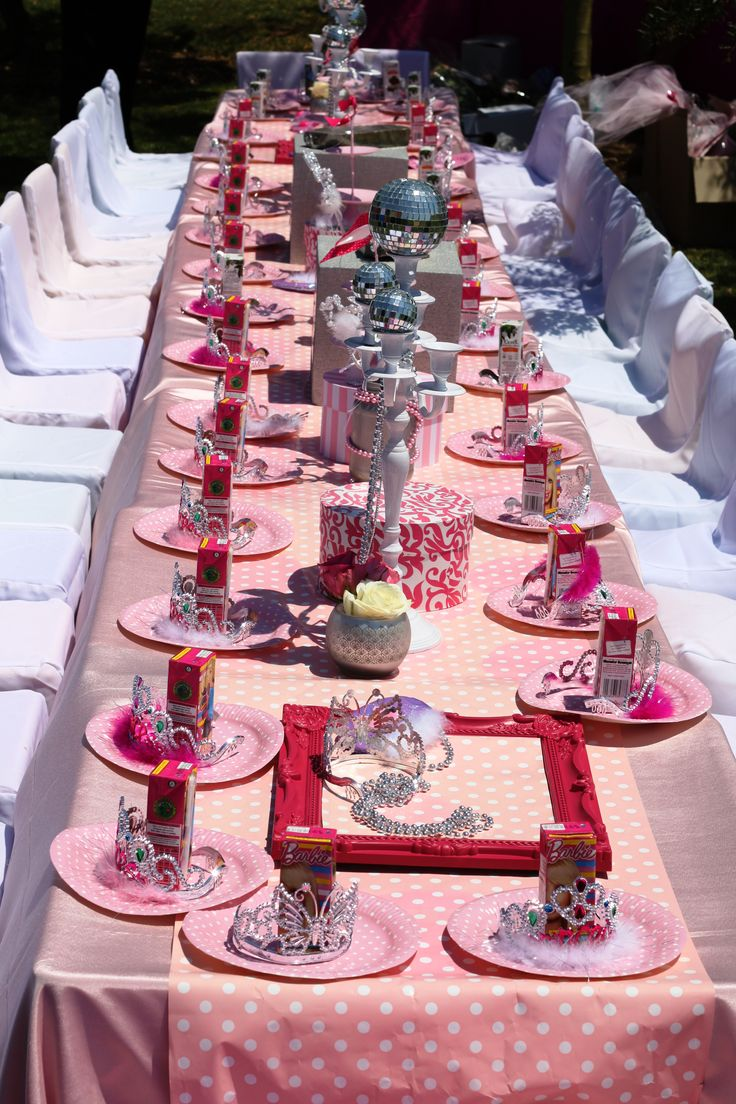 Special parties - this one was for a little girl's birthday