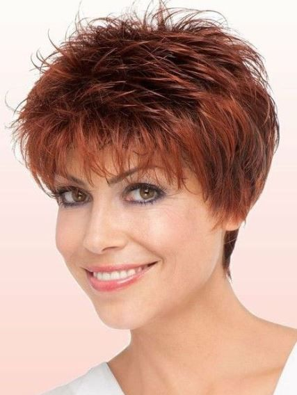 20 Ravishing Short Haircuts For Fine Hair Short Shag