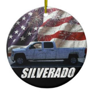 2013 Silverado 2500HD Crew Cab LT Long Bed 4x4 Ceramic Ornament