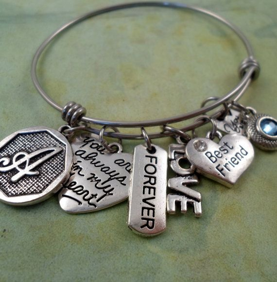 Best Friend You Are Loved Bangle You are Always by FindYourFeeling