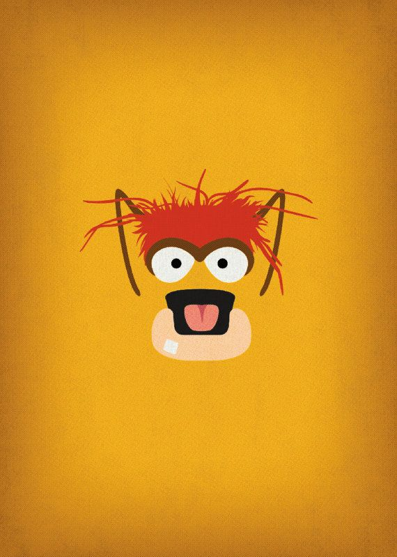 The Muppet Show Pepe the King Prawn Minimalist by TheRetroInc
