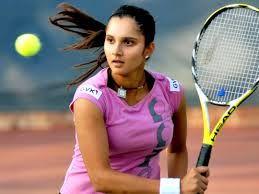 Sania Mirza playing tennis #saniamirza #tennisplayer #sports #racket