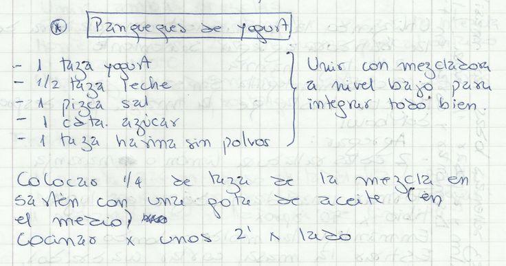PANQUEQUES DE YOGURT   #DULCE #MASAS #PANQUEQUE #YOGURT