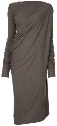 Rick Owens Lilies Drape side dress