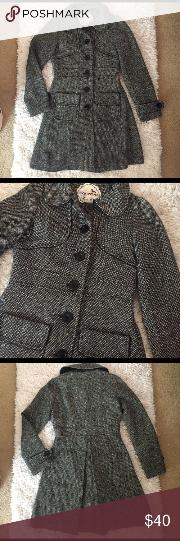 Peacoat size small Wool peacoat size small, great quality, no defects or tares. Jackets & Coats Pea Coats