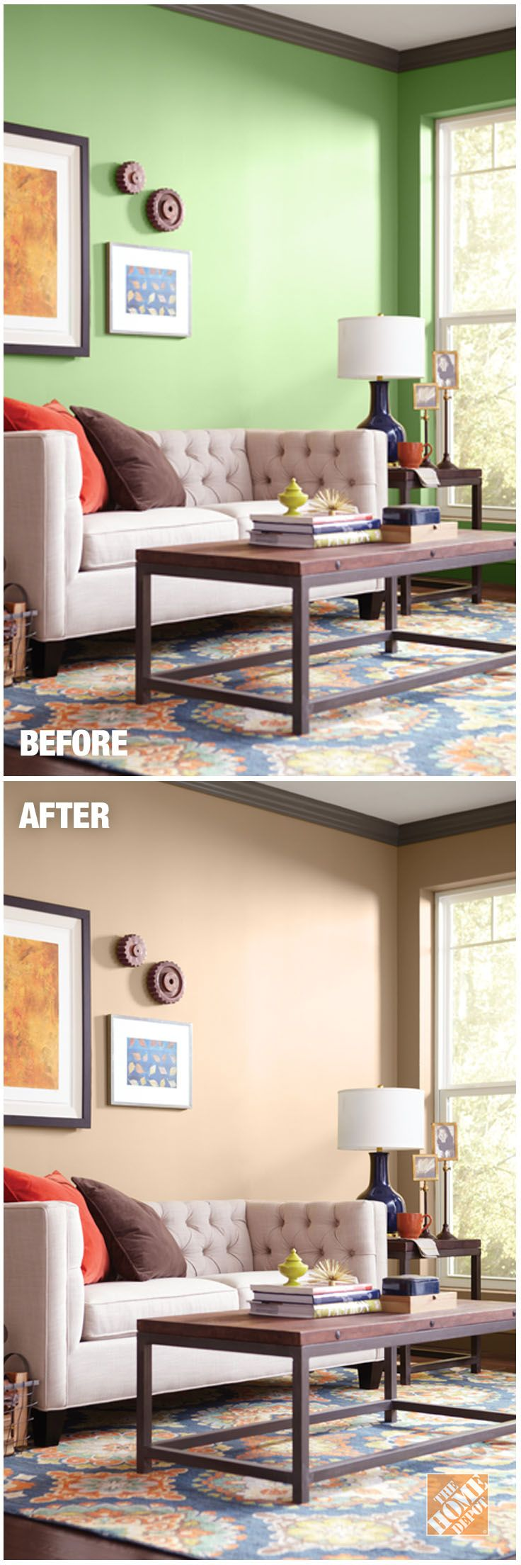 BEHR Paint Can Give A Room A Whole New Look! Explore On Trend, Neutral  Interior Paint Colors At The Home Depot Color Center. Part 71
