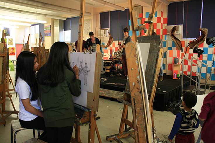 Artists at work as part of the Hungry For Art Festival. #Art #Artists #Artist #Drawing #Painting #Studio #HungryForArt #Event #Ryde #CityofRyde