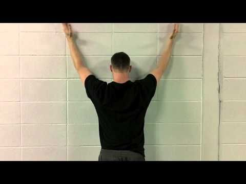 This is a weekly series on exercise that will give you the biggest bang for your exercise buck in and out of the gym. Today's exercise is forearm wall slides. You should do this because 1. T…