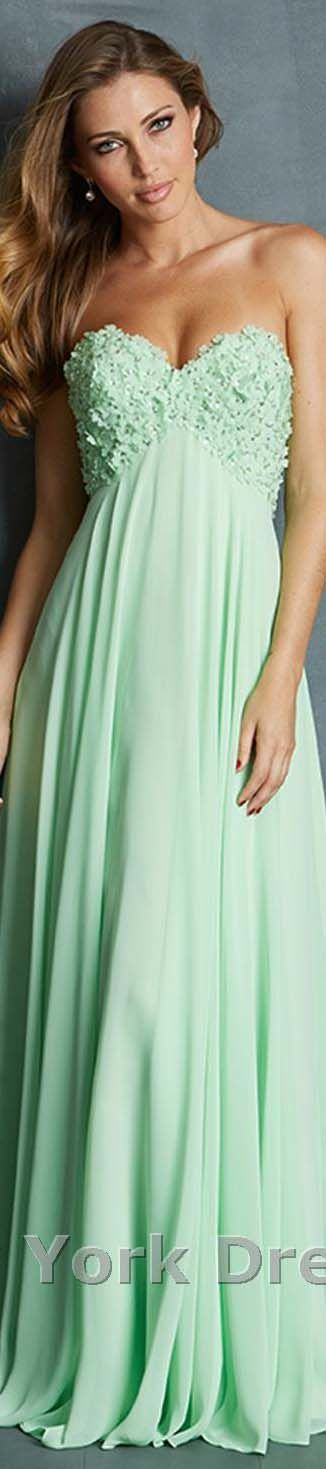 Allure Evening design in mint green