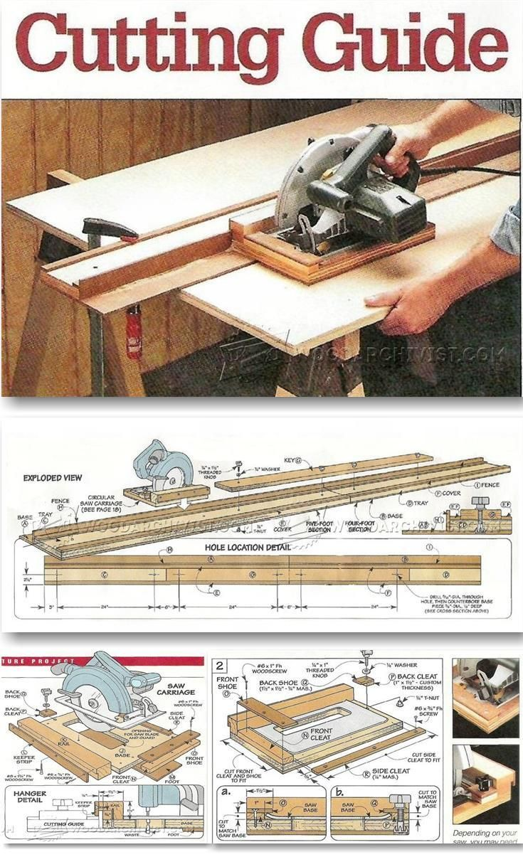 242 Best Great Ideas Images On Pinterest Woodworking For The Home Outlet 4 Prong Wiring A Stove Http Www Hammerzone Com Diy Circular Saw Guide Tips Jigs And Fixtures Woodarchivistcom